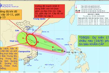 Công điện của EVN yêu cầu các đơn vị tập trung ứng phó với bão số 5