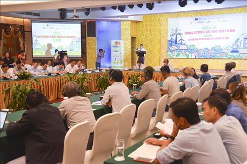 Khai mạc Tuần lễ Năng lượng tái tạo Việt Nam