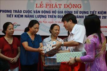 Hà Nội đẩy mạnh phong trào sử dụng năng lượng tiết kiệm