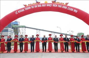 Lễ khánh thành dự án Nhà máy Nhiệt điện Thái Bình