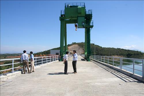Hiệu quả cao nhờ thay thế giải pháp giám sát từ xa đập tràn Thủy điện Đại Ninh