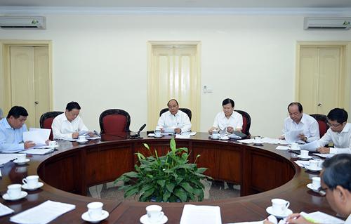 Thủ tướng Nguyễn Xuân Phúc: Không để thiếu điện cho phát triển kinh tế