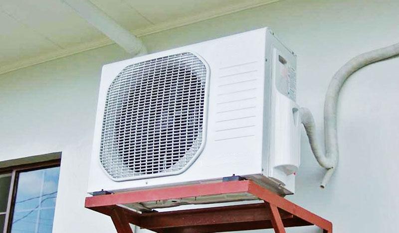 dàn nóng máy điều hòa inverter rò điện: có nguy hiểm?